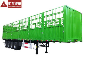 4 Axle Cargo Container Trailer , Container Delivery Trailer 45000kgs Carrying Volume