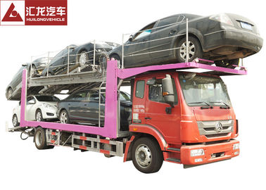 336 Horsepower Car Carrier Trailer , Durable Central Axle Car Holder Trailer